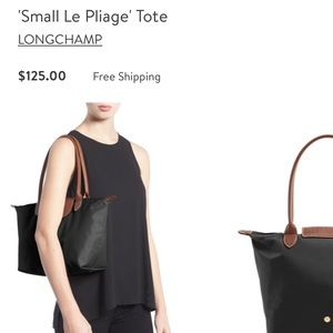 Longchamp small le Pilage tote